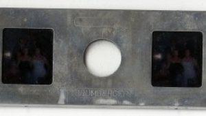 glass stereo slide