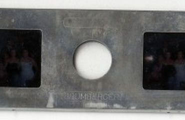 glass stereo slide