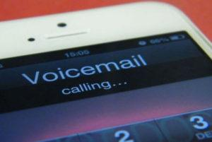 save voicemail from cell phone