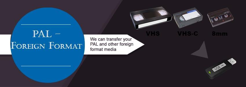 pal foreign format transfer