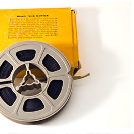 8mm film reel transfer service