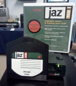 jaz drive and disc