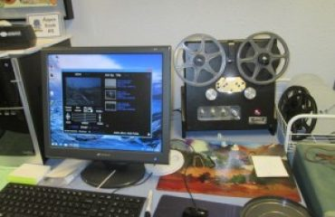 Convert 8mm and 16mm Film To HD DVD or Media File