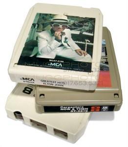 8 Track Tape transfer service