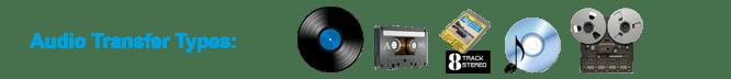 Denver Audio Transfer Types