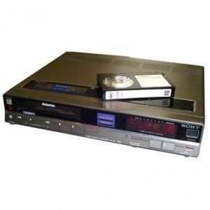 Betamax To DVD or Digital File Transfer Service