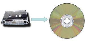 Cassette to MP3 or CD Transfer Service