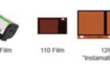 Types of negatives for scanning - 35mm 110 120 126 APS 15mm