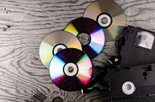 vhs to dvd or digital file transfer service